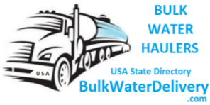 Usa State Directory Of Bulk Water Haulers By Swimming Pool Water Delivery