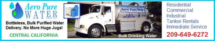 Visit Aero Pure Web Site. Purified Bulk Drinking Water.