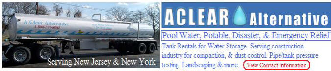 A Clear Alternative Bulk Water Supplier and Treatment Specialist